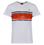2012-13 England Lifestyle Cut and Sew Tee (White-Red)