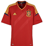 2012-13 Spain Adidas Home Football Shirt