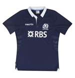 2013-14 Scotland Macron Home Rugby Replica Shirt