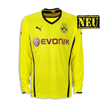 2013-14 Borussia Dortmund Home Long Sleeve Puma Shirt