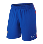 2013-14 Athletico Madrid Home Nike Football Shorts