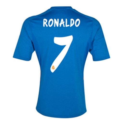 2013-14 Real Madrid Away Shirt (Ronaldo 7) - Kids