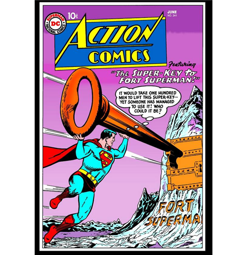 21 ACTION COMICS- DC ISSUE-GOOD HOLIDAY READING VIEW PHOTO.