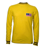 Malaysia 1972 Long Sleeve Retro Shirt 100% cotton