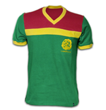 Cameroon 1989 Short Sleeve Retro Shirt 100% cotton