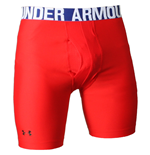 Under Armour Cold Gear Compression Evo Shorts (Red)