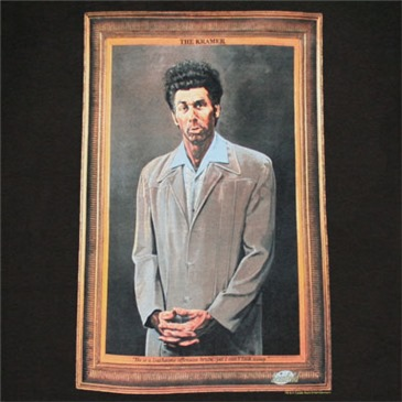 9c0060c6f Buy Official SEINFELD Kramer Painting Black Graphic T Shirt