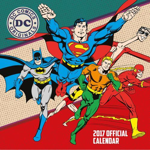 ... Cinema & tv Movies DC Comics Superheroes DC Comics Calendar 2017